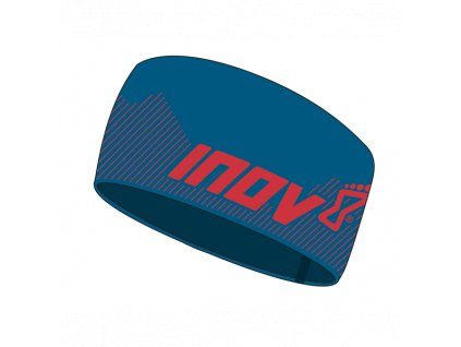 inov 8 race elite headband bluered
