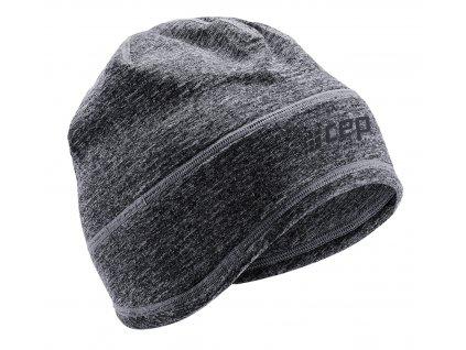 Winter Run Beanie black melange W0MB6R0 front