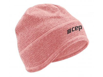 Winter Run Beanie rose melange W0MBAR0 front
