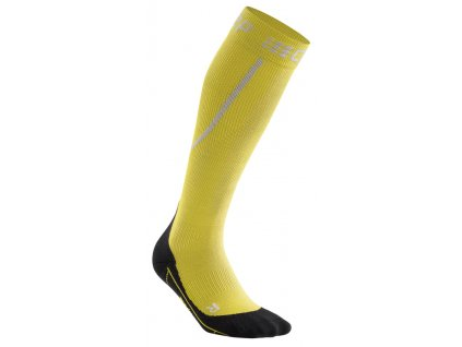 Winter Run Socks yellow black WP50GU m WP40GU w single
