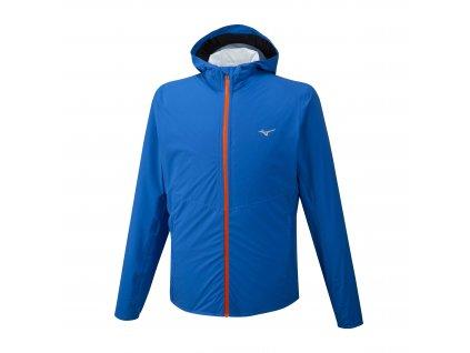 Mizuno 20K ER Jacket Blue nepromokavá bunda pánská
