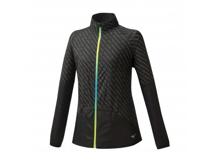 Mizuno Reflect Wind Jacket Black bunda dámská