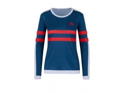 WildTee Běžecké triko COLOR STRIPES RED W