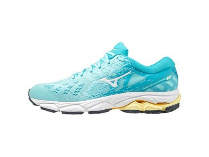 Mizuno WAVE ULTIMA 12 Tanager T S White Scuba Blue dámské z Best4Run Přerov
