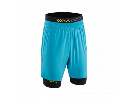 WAA ULTRA Short 3in1 Hawaiian Blue pánské z Best4Run Přerov