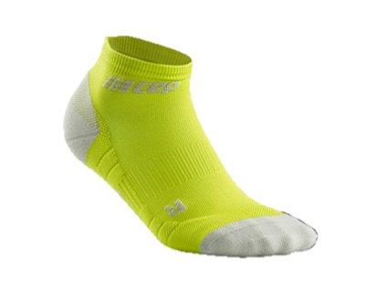 CEP Kotníkové ponožky 3.0 limetková světle šedá pánské z Best4Run Přerov