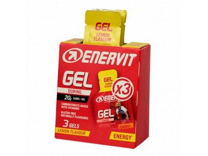 Enervit Gel citron 3 pack (3x 25 ml) z Best4Run Přerov