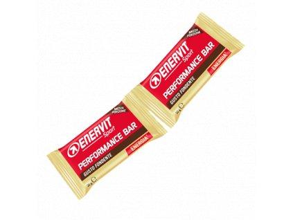 Enervit Performance Bar tmavá čokoláda (30+30 g) z Best4Run Přerov (1)