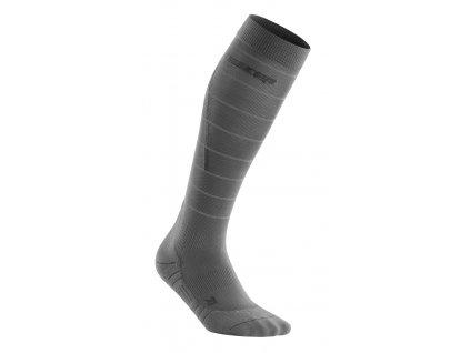 Reflective Socks grey WP402Z WP502Z front 1