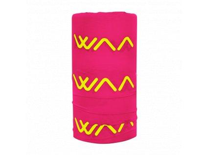 WAA ULTRA Multifunkční nákrčník Paradise Pink