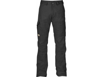 Kalhoty Fjällräven Karl Trousers Long dark grey