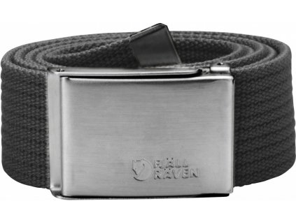 PásekFjällräven Canvas Belt dark grey