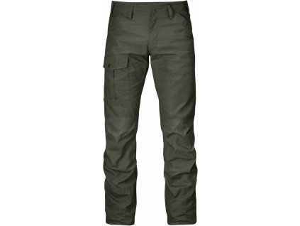 Kalhoty Fjällräven Nils Trousers Long mountain grey