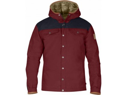 Fjällräven Greenland No. 1 Down Jacket red oak/night sky