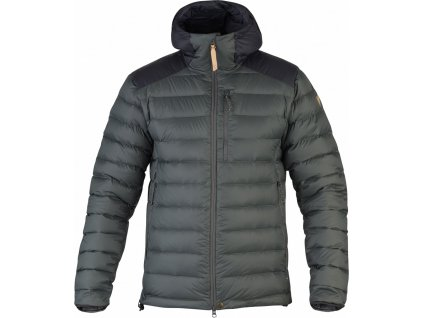 Bunda Fjällräven Keb Touring Down Jacket Stone grey-black
