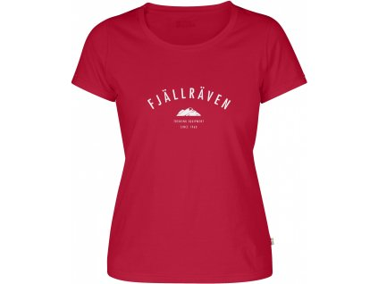 Fjällräven  Trekking Equipment T-Shirt W coral