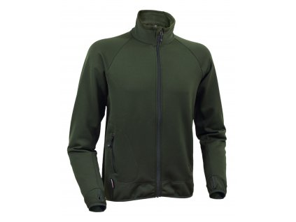 Mikina Warmpeace Swan Trevor Powerstretch alpine green XL
