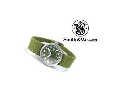 Hodinky Smith & Wesson Military Watch - zelené