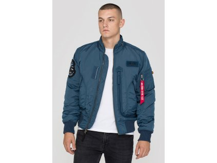 alpha industries engine bold blue