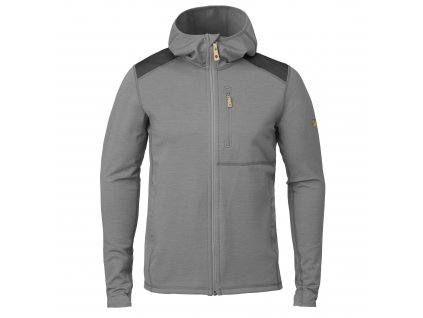 Fjällräven Keb Fleece Hoodie grey-dark grey