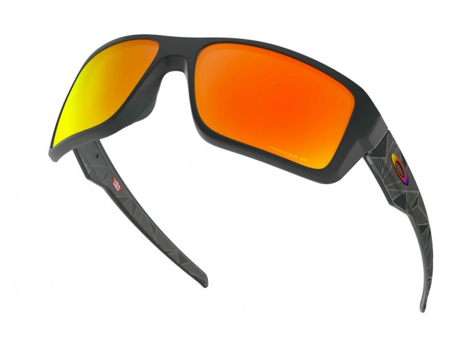 Oakley Double Edge black prizmatic/prizm ruby polarized