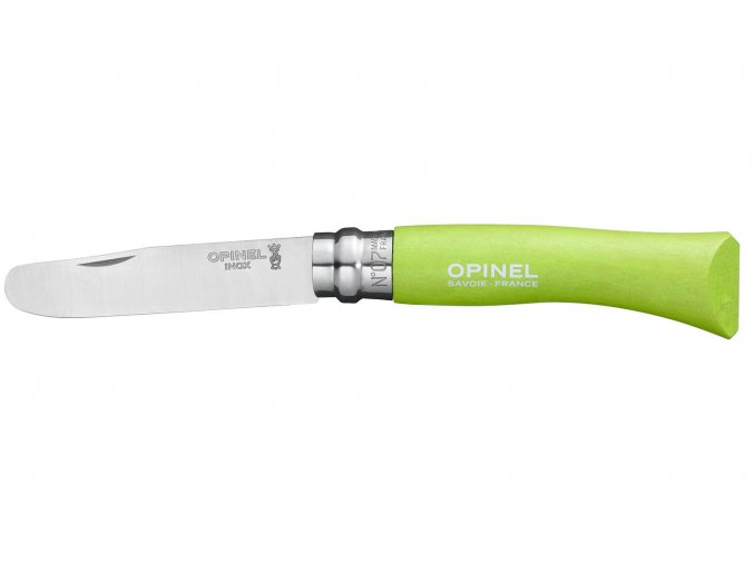 Nůž Opinel N°07 My first 8 cm - apple green