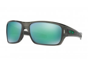 Oakley Turbine gray smoke/jade iridium polarized