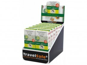 TravelSafe přírodní repelent Anti-Insect Spray 60ML