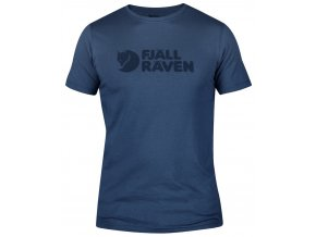 Fjällräven T-Shirt Logo M uncle blue