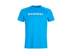 Mammut Splide Logo T-Shirt Men gentian