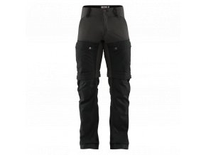 Fjällräven Keb Gaiter Trousers Man Dark black stone - grey