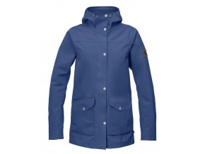 Fjällräven Greenland Eco-Shell Jacket Woman Deep blue