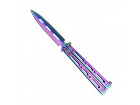 Nůž motýlek SCK Spear purple