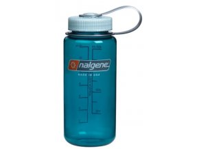 Láhev Nalgene Wide Mouth 500ml Trout Green