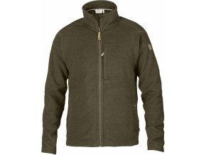 Fleecová bunda Fjällräven Buck fleece M dark olive