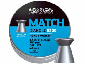 Diabolo JSB Blue Match S100 cal.4,5mm