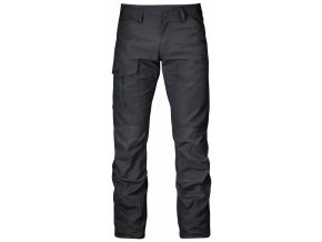 Kalhoty Fjällräven Nils Trousers Long dark grey
