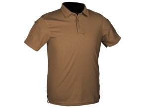 Polo Mil-Tec Tactical Quick Dry Poloshirt Coyote