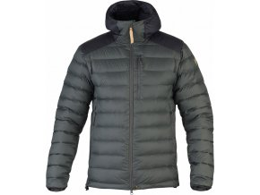 Fjällräven Keb Touring Down Jacket Stone grey-black