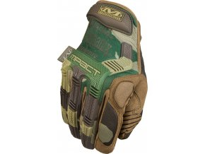 Rukavice taktické Mechanix M-Pact camo woodland