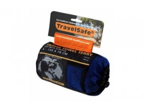 Ručník TravelSafe Microfiber Terry Towel L royal blue