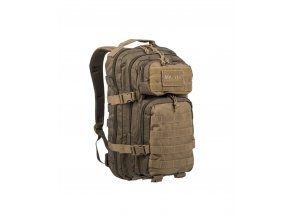 Mil-Tec Batoh US ASSAULT PACK Small green/coyote