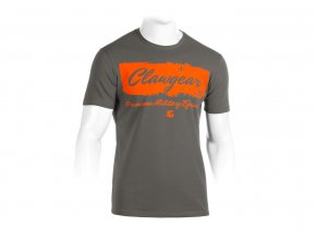 Clawgear Handwritten Tee T-Shirt grey