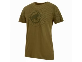 Mammut Logo T Shirt Men olive