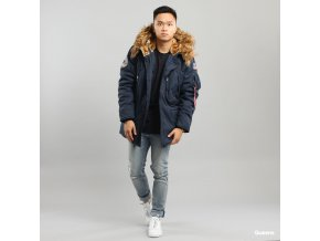 Bunda Alpha Polar Jacket new navy