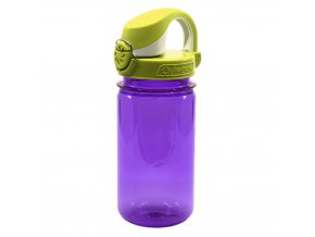 Láhev Nalgene Clear Kids OTF 350 ml purple laguna