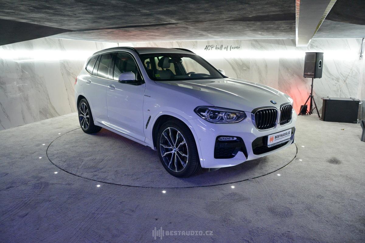 BMW X3 – G01 – Kompletní výměna reproduktorů + instalace zesilovače DSP (dokonalá alternativa audio systému Harman/Kardon)