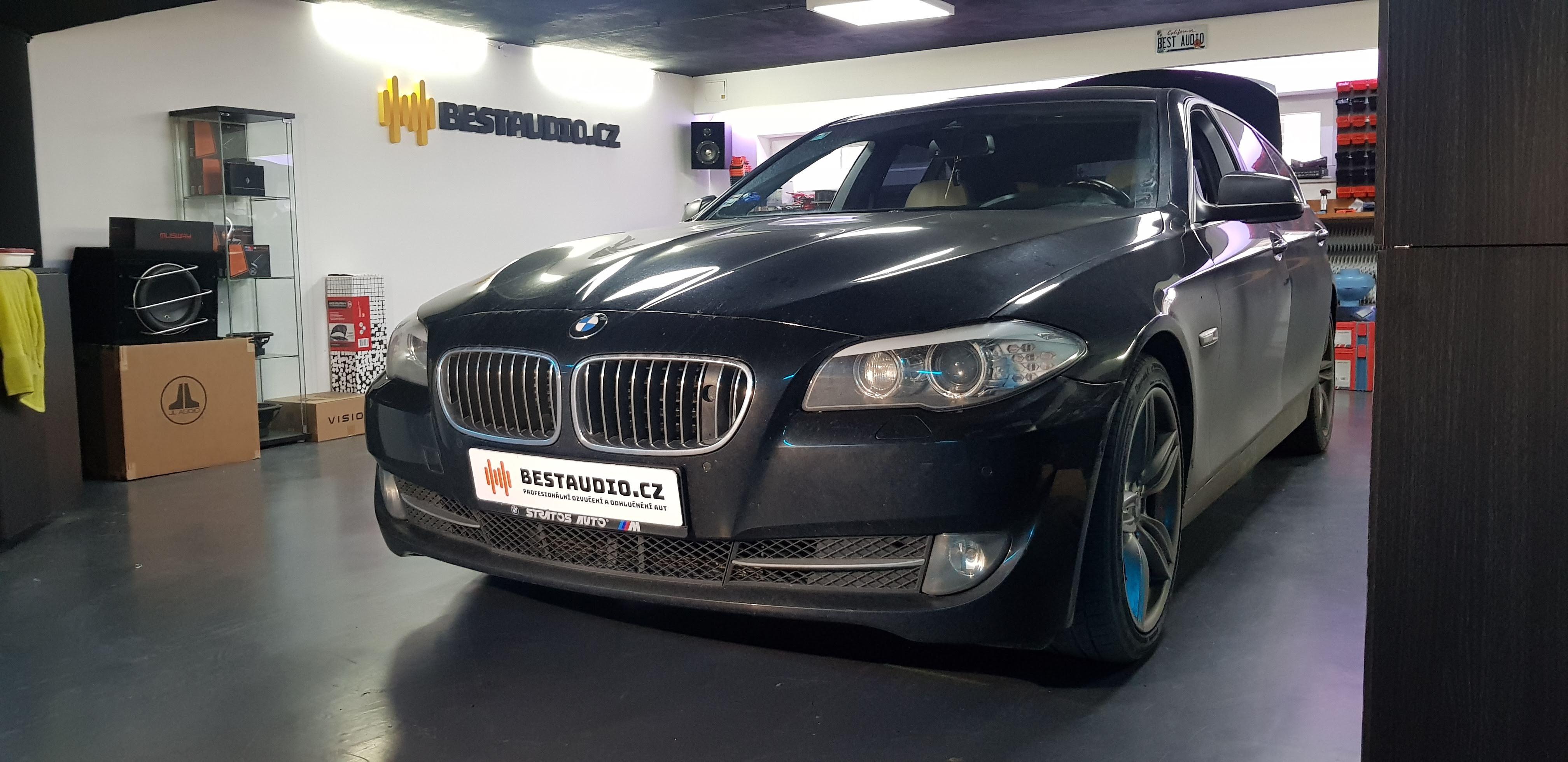 BMW 5 (F10) – upgrade nejvyššího sound systému LOGIC 7