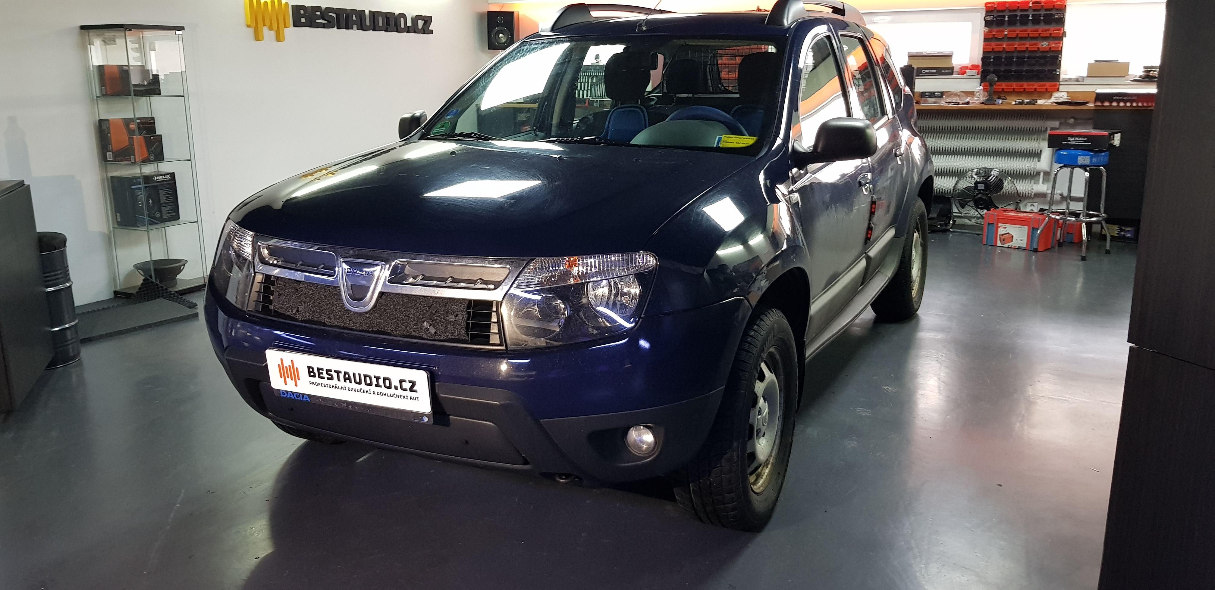 Dacia Duster – výměna reproduktorů