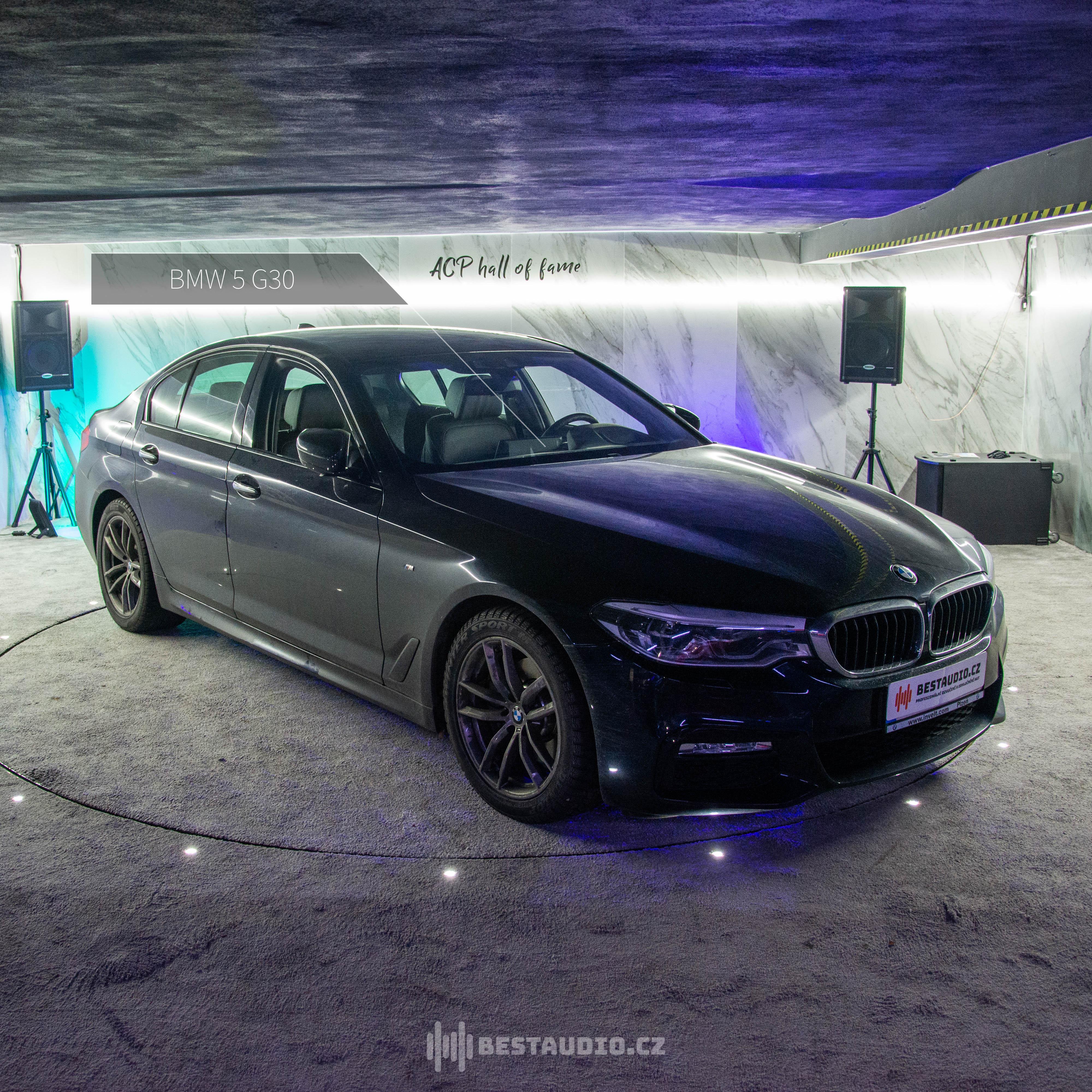 BMW 5 (G30) – Kompletní výměna reproduktorů + Instalace zesilovače DSP (alternativa místo Harman|Kardon)